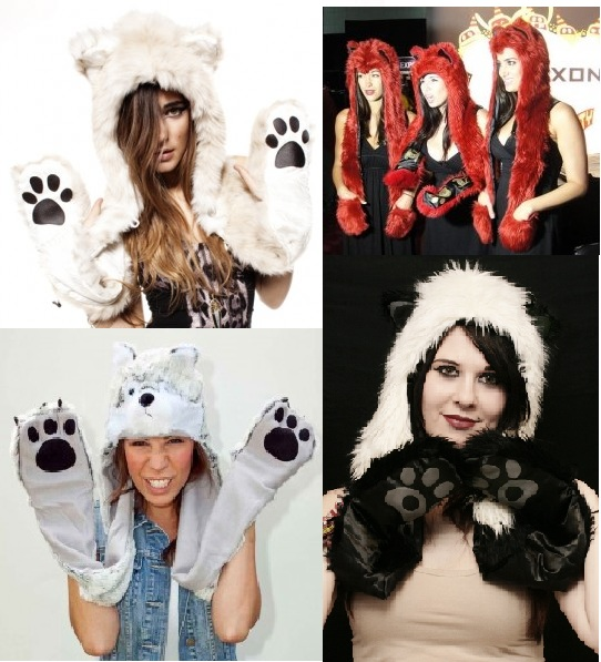 animal hat with paws1